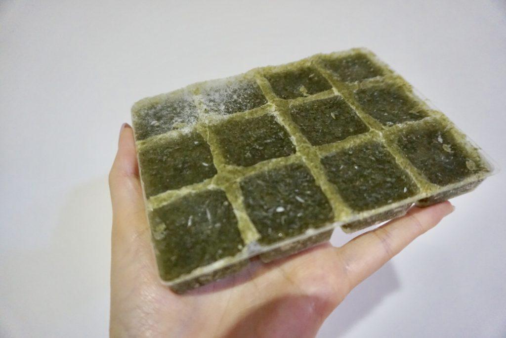 oisix野菜キューブほうれん草